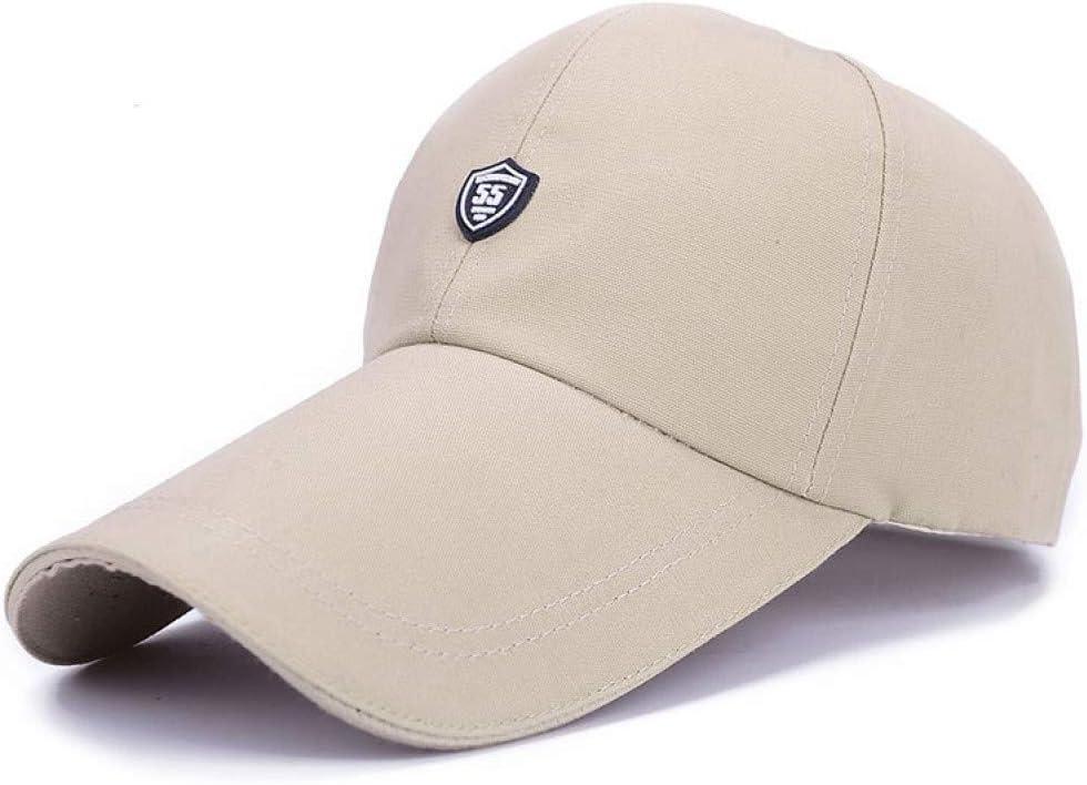 FXSYL Gorra de Beisbol Hip Hop Sombrero de Lona de Visera Larga ...