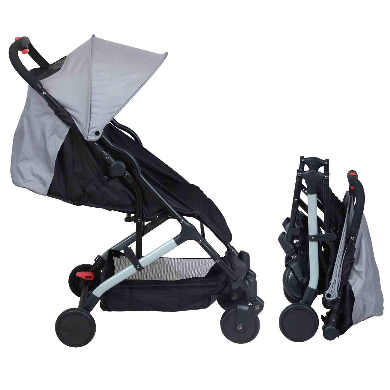Poussette bébé compacte naissance YUKO (Grise) product image