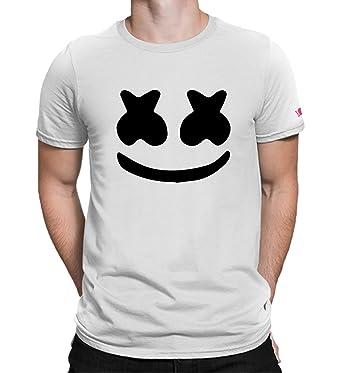 433ce9f63072 Graphic Printed T-Shirt for Men & Women | Marshmello T-Shirt | Music Tshirt  | Half Sleeve T-Shirt | Round Neck T Shirt | 100% Cotton T-Shirt | Short  Sleeve ...