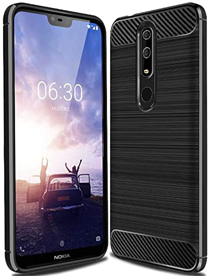 size 40 f2cd2 5845f Nokia X6 2018 Case, Nokia 6.1 Plus Case,Sucnakp TPU Shock Absorption  Technology Raised Bezels Protective Case Cover for Nokia X6/6.1 Plus ...