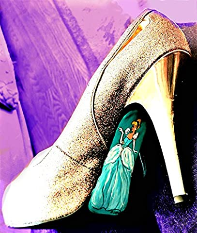 Andrea Lapins Art, Cinderella Theme, Child's Room , One of a Kind, Custom Order, Cinderella Shoes, or other theme to your specifications. Prom Shoes, Fantasy (Prom Themes)