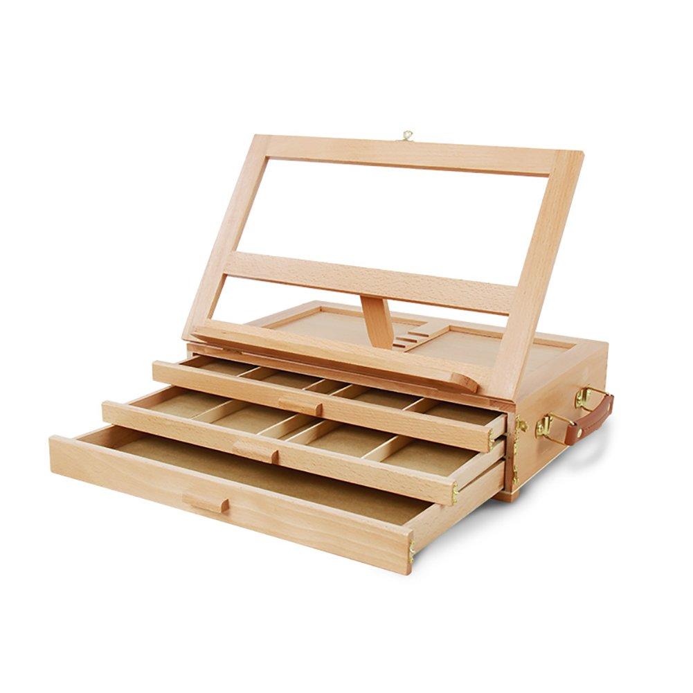 3つの床イーゼル引き出しタイプの絵画ボックス木製のデスクトップポータブル教示棚広告結婚式テーブルスタンド Set (色 : Set Set of 1) Set of 1 1 B07FLKQ5SG, ジュエリー シーアクリエイション:f39bec86 --- ijpba.info
