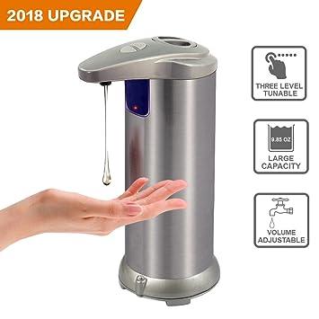 Automatischer Seifenspender Hand frei Edelstahl IR Infrarot ...