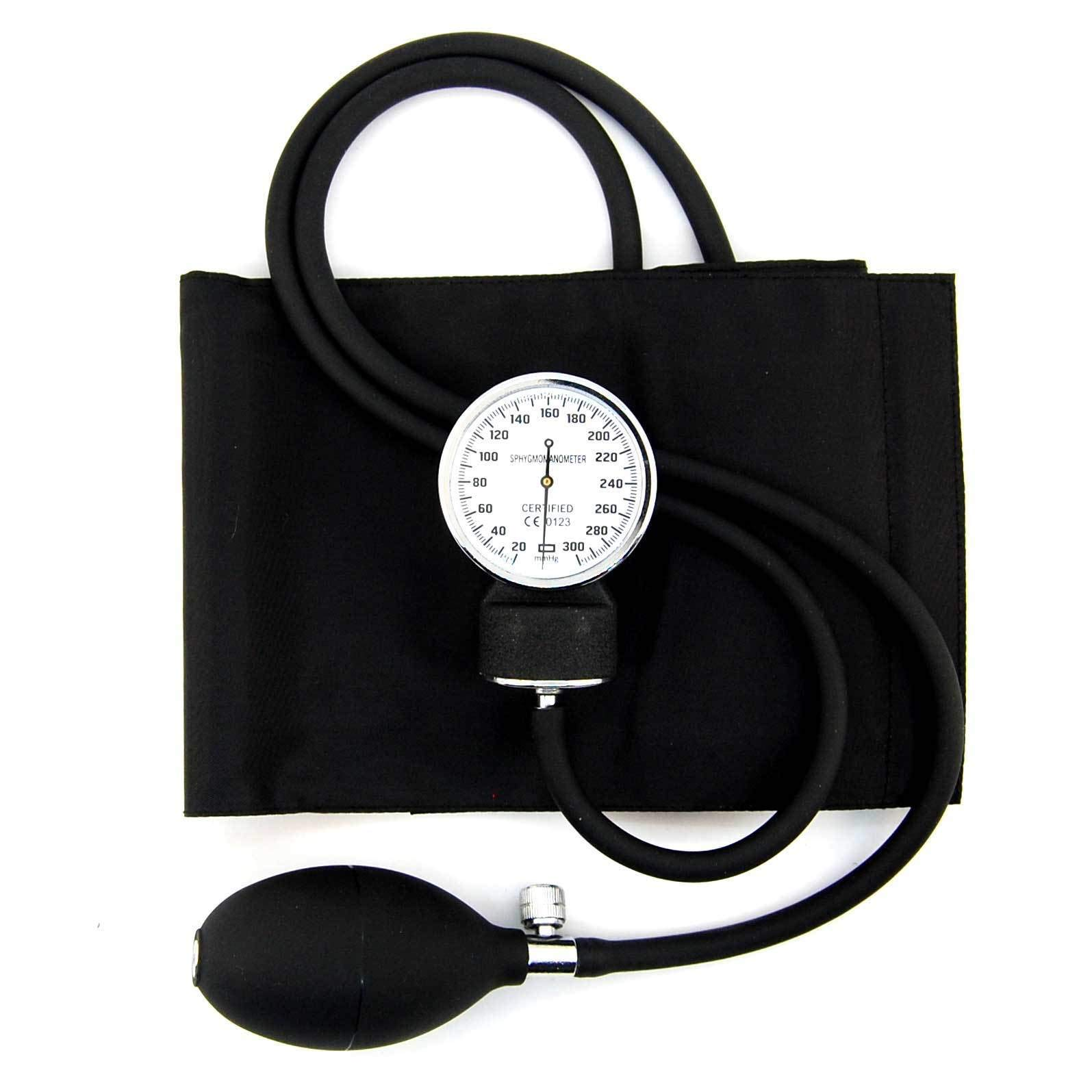 Professional Aneroid Sphygmomanometer Cuff Blood Pressure Monitor with Zipper Bag
