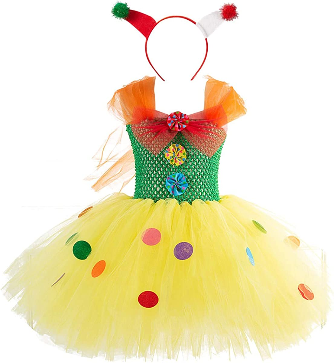 Toddler Girls Halloween Costume Age 2-3 Witch Cat Princess Tutu Fancy Dress Kids