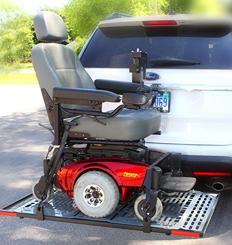Lift-N-Go Power Electric Scooter or Powerchair Auto Lift by Wheelchair Carrier 210 Model