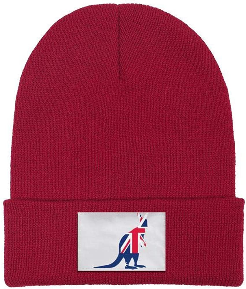 Unisex Knit Beanie Hat American Flag Peace Sign/ Warm Winter Skull Caps