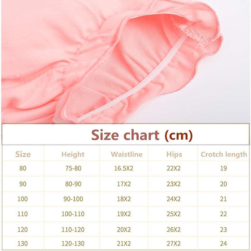Pantalones de Entrenamiento para Beb/é 4 Paquetes Morbuy Ni/ños Ni/ñas Bragas de Aprendizaje Reutilizable para ni/ños Peque/ños de Algod/ón pa/ñales Ropa Interior