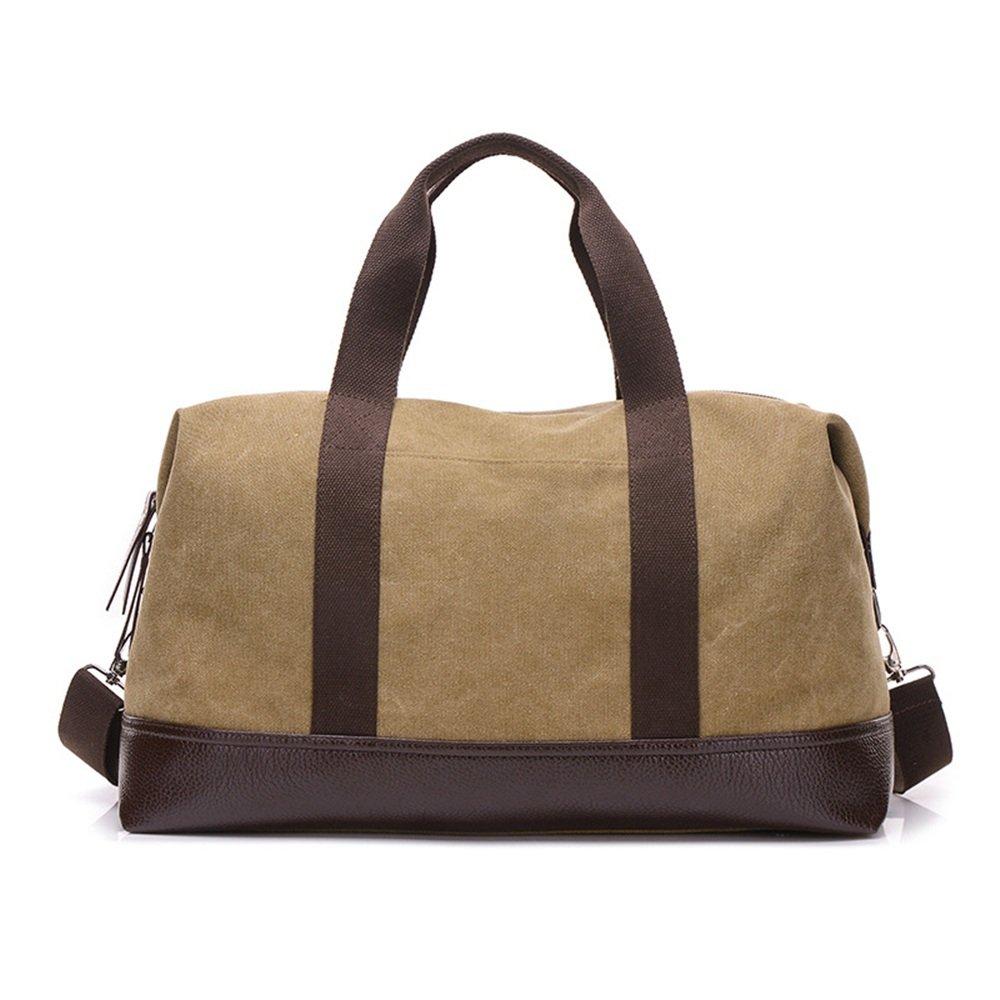 Ybriefbag Unisex Canvas Travel Bag, Luggage, Leisure Canvas, Shoulder Bag, Shoulder Bag, Traveling Bag, Traveling Bag. Vacation