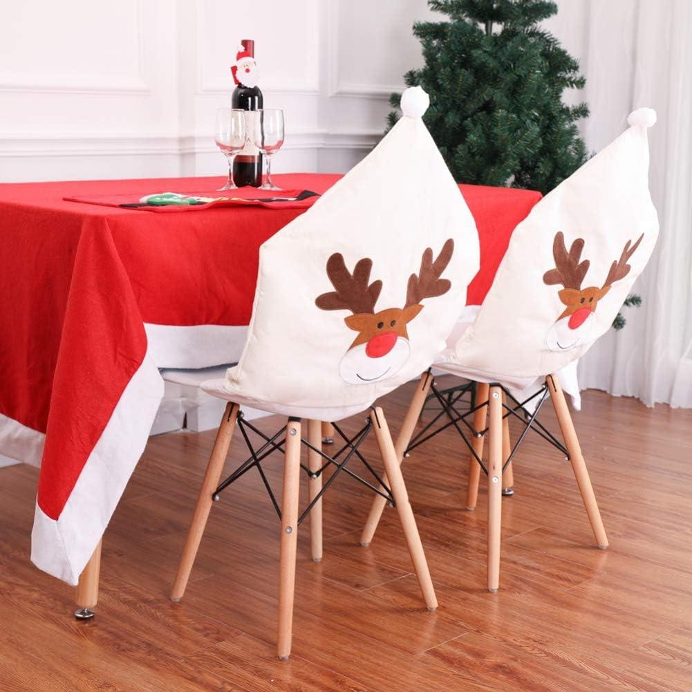 Housse de Chaise, pour la décoration de Noël