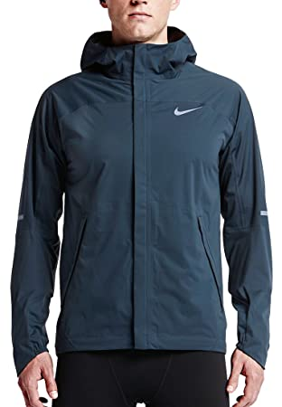 Nike ShieldRunner Running Jacket Mens Size XL Squadron Blue 689473-460