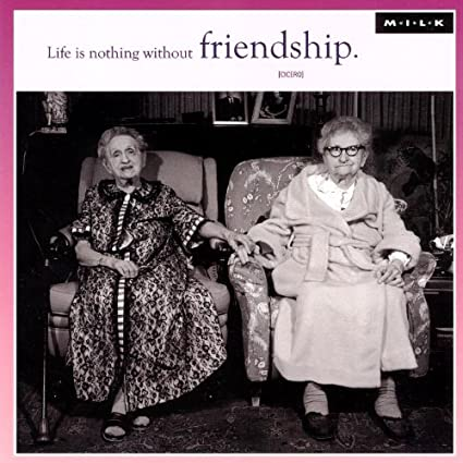 Amazon Life Is Nothing Without Friendship Birthday Greeting