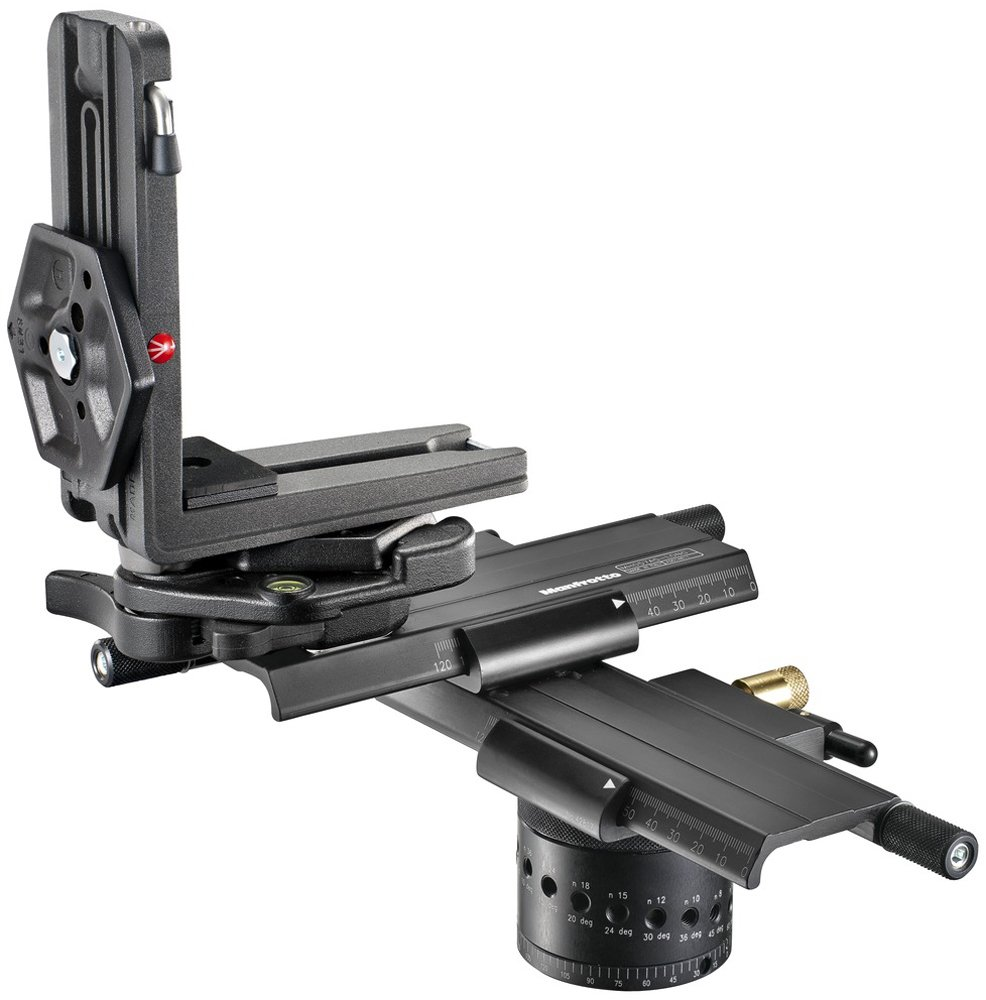 Manfrotto MH057A5-LONG 5.79-Inch Virtual Reality and Pan Pro Head (Black) by Manfrotto (Image #2)