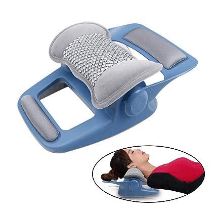 Amazon.com: UUK - Masajeador cervical, almohada de vibración ...