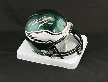 30f99f5bc1d Michael Vick Signed Mini Helmet - PSA DNA Certified - Autographed NFL Mini  Helmets