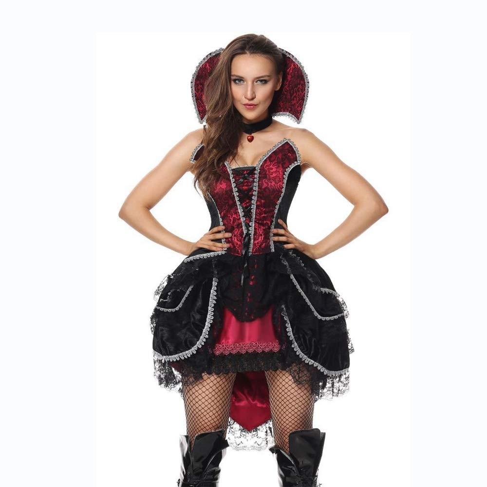 Ambiguity Halloween kostüm Damen Halloween Hexe Kostüm Königin Outfit Kostüm Rollenspiel