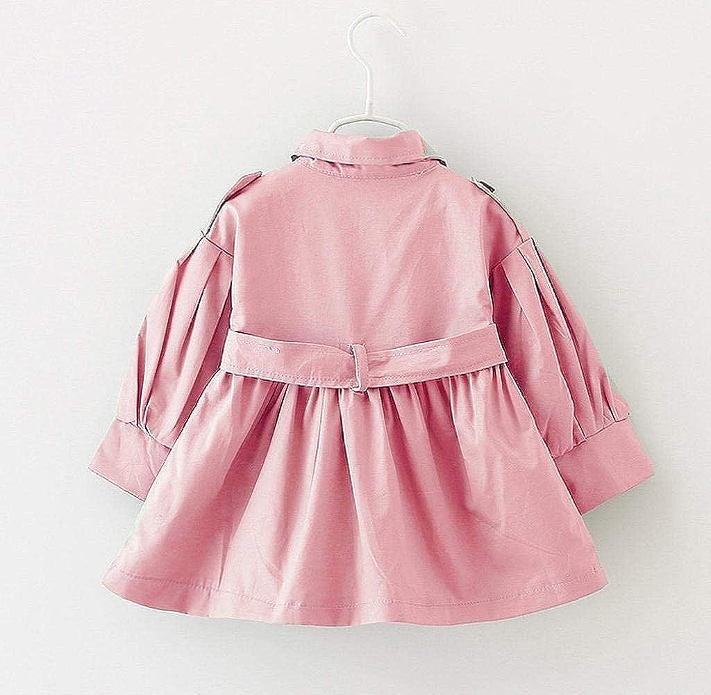 Bambino Cappotto Trench Giacca Outwear Double Breasted Arco Cappotti Bambina Elegante Giacche Giacca Bimba Invernale Jimmackey