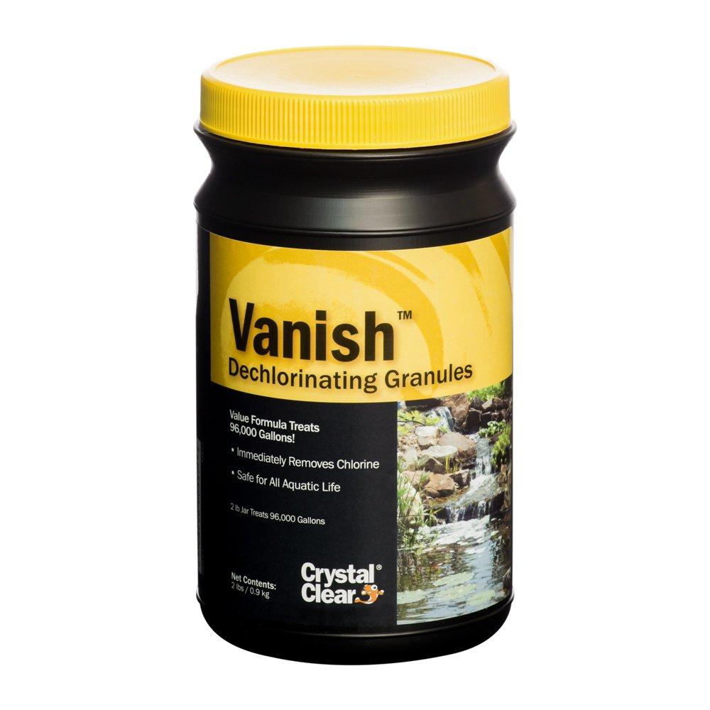 CrystalClear, CC013-2, Vanish, Dechlorinating Granules, 2 lbs by CrystalClear
