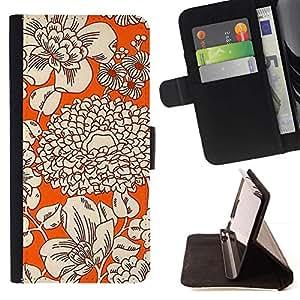 For Sony Xperia Z1 L39 Case , Tela Tela nar- la tarjeta de Crédito Slots PU Funda de cuero Monedero caso cubierta de piel