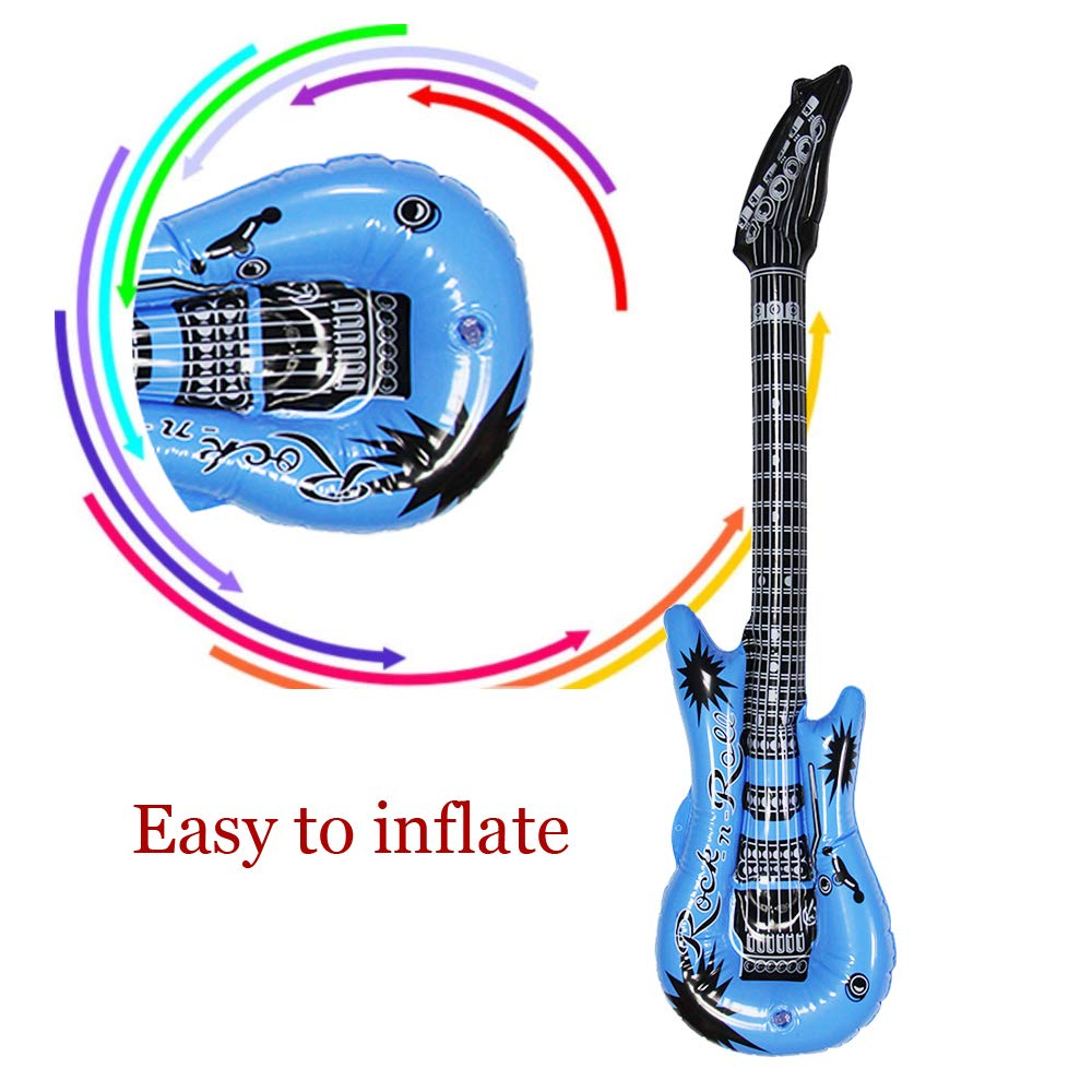 Amazon.com: Dr.dudu - Guitarra hinchable, impermeable ...
