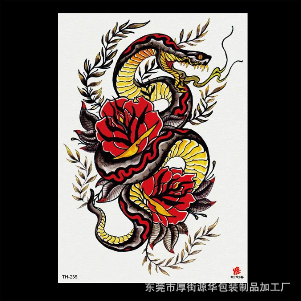 zgmtj 2019 Nueva Flor del Brazo 3D Oso Tatuaje Pegatinas ...