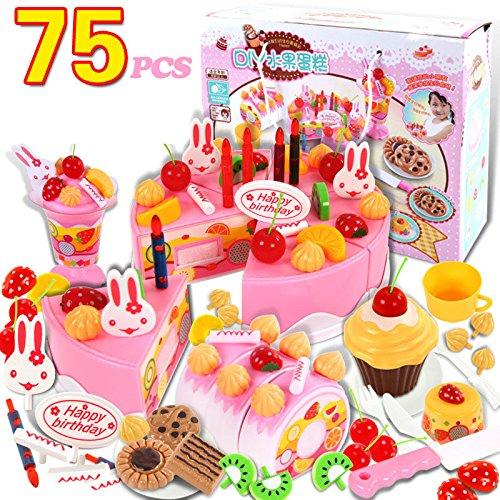 Enfants Jeu Pcs Jeu75 Needoon D'anniversaire Nourriture En De tdhrQsxBC