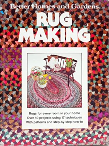 Better Homes and Gardens Rug Making Gerald Knox 9780696004650