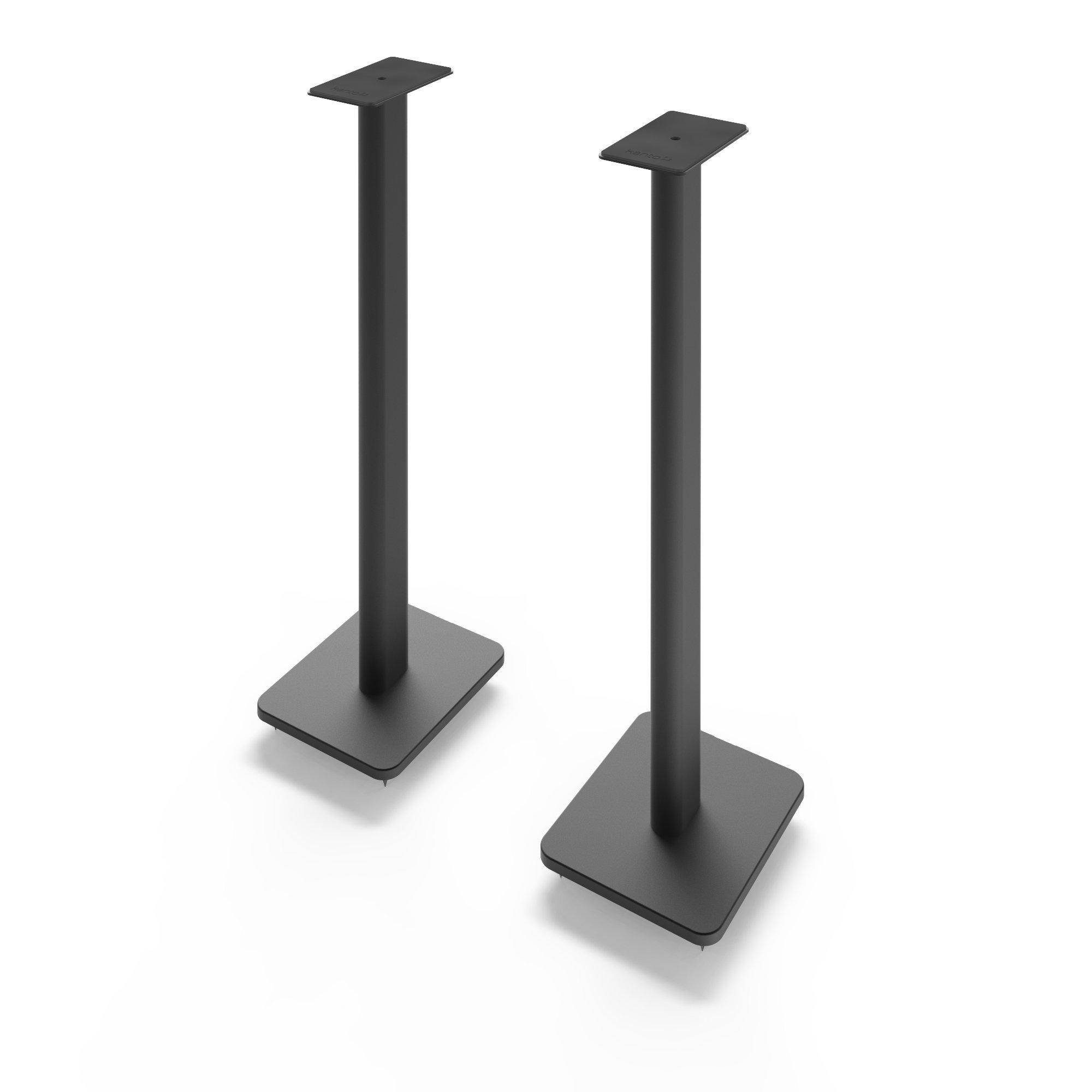 Kanto SP32PL 32'' Bookshelf Speaker Stands, Black by Kanto