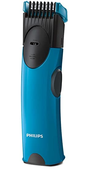 750a2ae4d39 Philips BT1000 15 1.00 Pro Skin Battery Operated Trimmer (Blue Black)   Amazon.in  Health   Personal Care