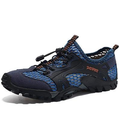 cheaper 7801f bfb22 Flarut Sandali Sneakers Sportivi Estivi Uomo Trekking Scarpe da Spiaggia  All'aperto Pescatore Piscina Acqua Mare Escursionismo Leggero