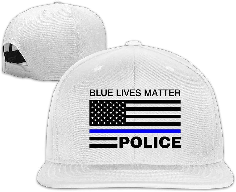 Azul Vida Tema Policía Nosotros Bandera Cool Gorra de béisbol ...