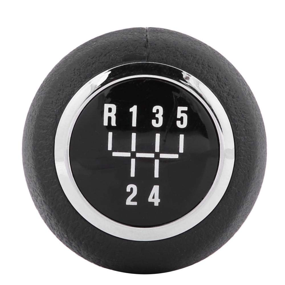 Minyinla Car 5 Speed Gear Shift Lever Knob Head Gear Shift Knob Replacement for Chevrolet Cruze 2008-2012