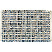 Park Designs Denim Jute Rag Rug 24X38