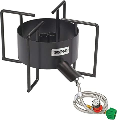 Amazon Com Bayou Classic Sp40 22 Inch Double Jet Cooker With Hose Guard Outdoor Fry Pot Accessories Garden Outdoor