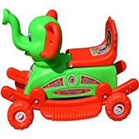 Elephan Baby Rider 2 in 1 Rocker Cum Riders for 2 Years Kids (Color May Very)