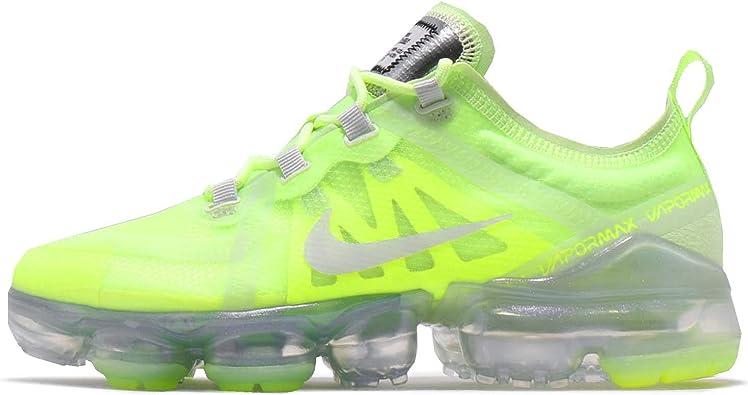 halcón pueblo hogar  Amazon.com: Nike WMNS Air Vapormax 2019 Volt Glow Spruce Aura - Zapatillas  de correr para mujer, talla 75, color negro: Shoes