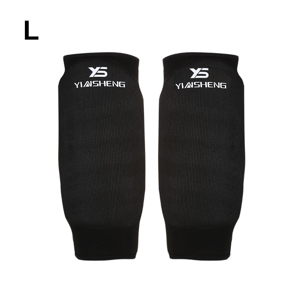 1 Pair Arm Guard Karate Arm Protector Arm Protection Accessory for Karate Competition Training Protector(Black-M) VGEBY