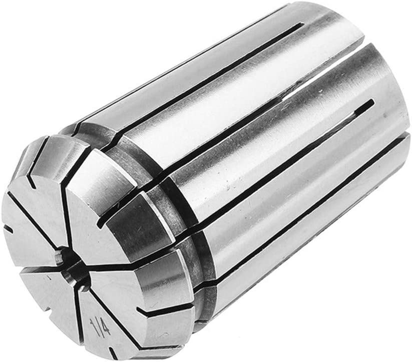1//8 1//4 Inch Spring Collet Chuck Collet For CNC Milling Lathe Machine Machining Engraving Machine Woodworking Tool 3.175mm