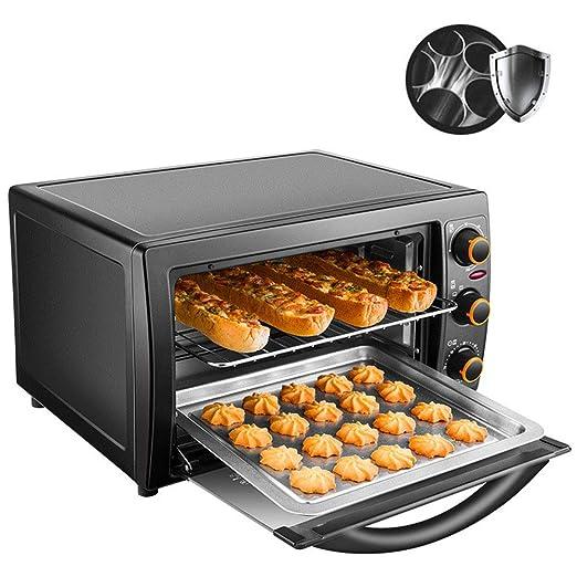 25L Multifuncional horno, horno eléctrico de acero inoxidable ...