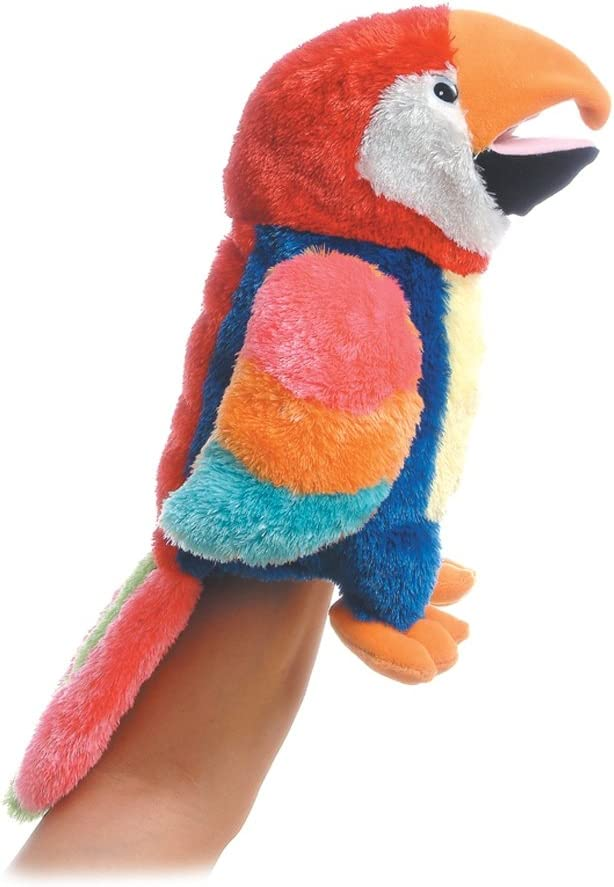 Aurora World Hand Puppet Petey Parrot 12