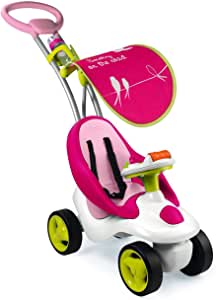 Smoby 413001 Bubble Go Girl Ride On, Multi Color
