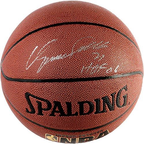 (Dominique Wilkins Autographed Indoor/Outdoor Basketball with