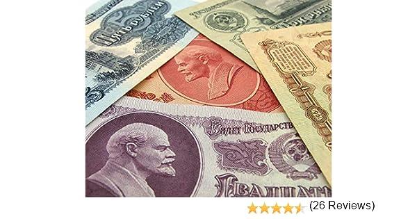Lote DE 1961 Rusia URSS CCCP Billetes SOVIÉTICOS 5 Billetes EN ...