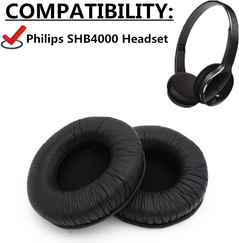 Almohadillas de Repuesto para Auriculares Philips SHB4000 SHB 4000