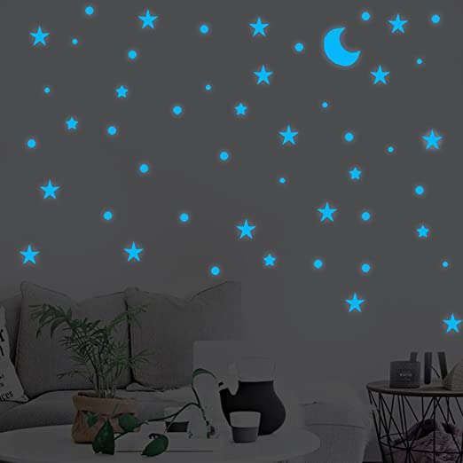 40pcs//1set  Wall Stickers Kid Bedroom Wall Decor Decals Self-adhesion Removeable