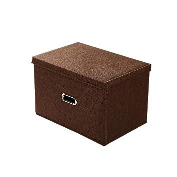Amazon.com: Mz - Caja de almacenaje con tapa, lavable ...