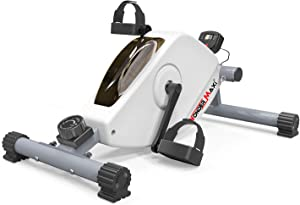 Wonder Maxi Under Desk Bike Pedal Exerciser, Mini Exercise Bike Magnetic Stationary Cycle for Office Home Equipment Leg and Arm Pedal