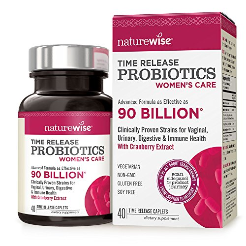 NatureWise Probiotics Women Billion Time Release