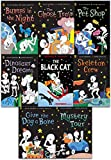 download ebook funny bones 8 books collection set by allan ahlberg ( bumps in the night, dinosaur dreams, give the dog a bone, mystery tour, skeleton crew, the black cat, the ghost train, the pet shop) pdf epub