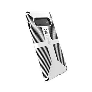 Speck Products CandyShell Grip Samsung Galaxy S10+ Case, White/Black